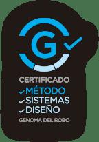 Logo Genoma del robo